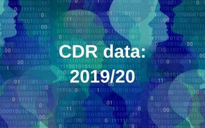 CDR data 2019/20 report released